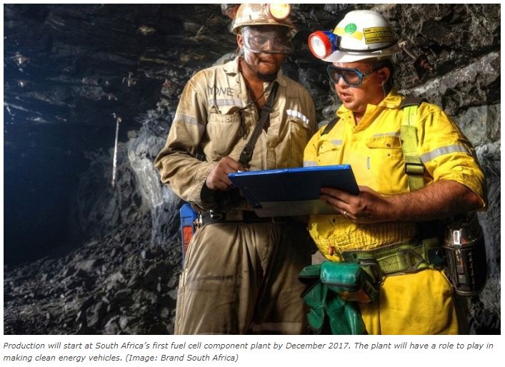 South Africa's role in clean energy discussed at Mining Indaba